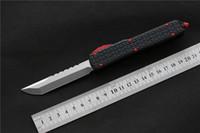 Trasporto libero, Miker D2 lama di sopravvivenza di campeggio di alluminio esterna EDC caccia tattico strumento coltello da cucina la cena