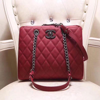 Fashion Joker Handbags Boutique Leather Shoulder Bag Chain L...