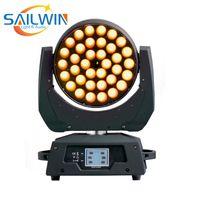 36x10W RGBW LEDの移動ヘッドウォッシュズームライト、DJと家族のパーティーのためのDMX制御段階ライト