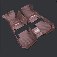 Роскошный логотип на заказ автомобилей Напольный коврик с автомобиля для TOYOTA COROLLA COSTER CROWN PRIUS REIZ CAMRY NEW VIOS PREVIA RAV4 LAND CRUISER Luxury Car Маты