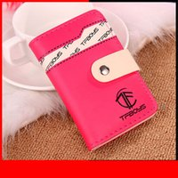Women Cards Holder Bag Tf Boys Brand Design 20 Cards Hasp Bu...