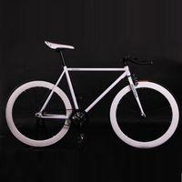 Sabit Dişli Bisiklet Fixie Bisiklet 52cm Çerçeve DIY Müsküler Çerçeve Bisiklet Yol Alüminyum Alaşım Fixie Bisiklet