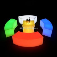 2020 waterproof Glowing arc- shaped snake chairs combination ...