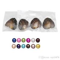 2020 nouvelle Akoya de haute qualité perle d'eau douce coquille d'amour pas cher huître huître perlière 6-7mm avec emballage sous vide 14 pièces / lot