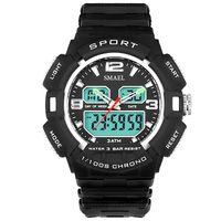 고급 스포츠 시계 남자 30M 방수의 충격 Resisitant 군사 시계 남성 생일 선물 남성 손목 시계 WS1378