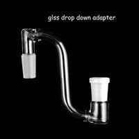 Dropdown Glas Adapter weiblich männlich 14mm 18mm bis 14,5mm 18,8mm gemeinsame Glas Dropdown Adapter für Bohrinseln Glas Bongs