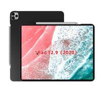 """nero opaco Pattino-prova TPU Case Cover trasparente di silicone per iPad Pro 12.9"""" (2020 Release) / iPad Pro 11 2020"""