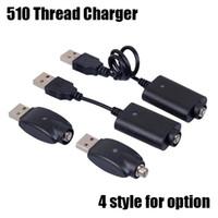 510 스레드 USB 충전기 전자 담배 E CIG 무선 충전기 케이블 510 자아 T C EVOD 트위스트 비전 스피너 2 3 미니 배터리