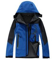 2018 Erkek kuzey Denali Polar Apex Biyonik Ceketler Açık Rüzgar Geçirmez Su Geçirmez Rahat SoftShell Sıcak Yüz Palto Bayanlar S-XXL T017