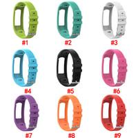 Cinturino di Smart Pure sostituzione morbido silicone Watch Band Strap il trasporto per Garmin Vivofit Vivofit 2 Free