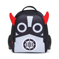 Cartoon Waterproof Animals School Backpacks Kids Baby 3D Pri...