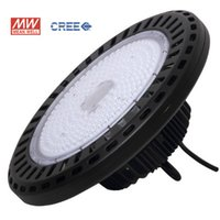 UFO Highbay Lights CREE MW 250W 200W 150W 100W AC100-277V PF>0.95 120LM MeanWell 5 Years Industrial LED Lamps Waterproof IP65 China Factory