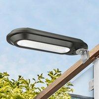 LED-Solarlicht Sonnenlicht für Garten-Dekoration IP65 Außen Wall Street-Lampe wasserdicht Lampe-Licht Fühlen Sie sich frei installieren