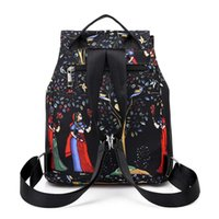 Designer- Brand Fashion Large Capacity Waterproof Oxford Women Backpack Luxury High Quality School Bags For Women Cartoon Backpack