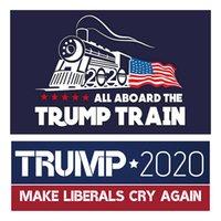Trump Notebook-Aufkleber Autoaufkleber Halten Sie Amerika Große Aufkleber Präsidentenwahl Car Styling Fahrzeug Paster DDA33 Stellen