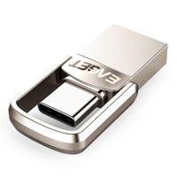 (новая генерация)EAGET Тип C USB флэш-накопитель 16 ГБ USB-накопитель 32 ГБ 64 ГБ 128 ГБ флешки памяти USB диск для Huawei для ноутбуков телефон