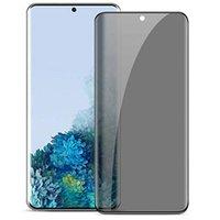 الخصوصية الزجاج المقسى 3D منحنى حافة حالة ودية شاشة حامي لسامسونج غالاكسي S20 S10 فائق S9 S8 بالإضافة إلى ملاحظة 10 PRO