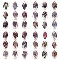 Женщины моды плед шарфы Сетка кисточка Wrap Крупногабаритная Check шаль Шотландка Кашемир шарф Зимние шейные решетчатые Пледы Favor RRA2699