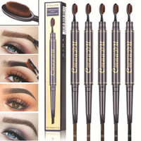 Cmaadu New Eye Brow Tint Kosmetik Natur Long Lasting Farbe Tattoo Augenbrauen Wasserdicht Schwarz Bürstenkopf Augenbrauenstift