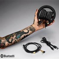 Marshall Major 2 cuffie senza fili con il Mic DJ Maggiore II bassi profondi Bluetooth DJ della cuffia con la scatola di vendita al dettaglio