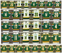 Minnesota Vintage North Stars Jersey 17 Basil McRae 4 Craig Hartsburg 11 MIKE GARTNER 15 DAVE GAGNER 20 Dino Ciccarelli CHURLA Hockey Retro