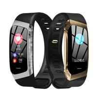 E18 Smart Band Color Touch Screen Pressure Heart Rate Monito...