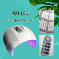 Горячие продажи складная 4 Цвет LED уход за лицом Фотон терапия Маска PDT омоложение кожи лица красоты машина светодиодные терапия CE/DHL