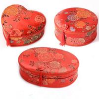 Tela de la boda Caja de costura Casa Boda casera Dote Kit de costura Cinta de aguja Tijera Multifunción Hilos F3174