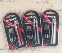 V- VAPE LO Preheat VV Battery Blister Kit 650mah Variable Vol...