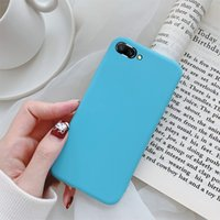 Handy-Back-Abdeckung Candy Color Cases Weiches Silikon-Hülle für Huawei p20 PRO P10 P9 P9 P8 Lite Mate 10 Ehre 8 9 y9