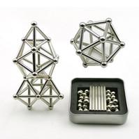 Смешные 36PCS инновационных магнитных палочки 27pcs стальных шариков Игрушки строительных блоки головоломка игрушка Набор для разгрузочного давления