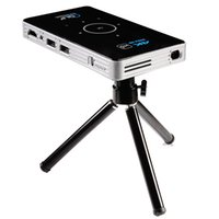 Raypodo DLP mini pocket projector with black and white color...