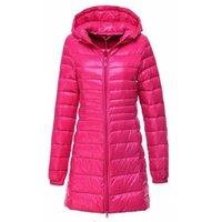여성 오리 따뜻한 재킷 새로운 도착 봄 가을 겨울 코트 여성의 긴 울트라 라이트 파카 코트 여성 후드 5xl 6xl 파카 Y190828