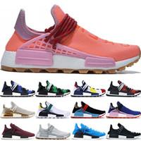 NMD 인간의 인종 BBC 멀티 컬러 패럴 오레오 노벨 잉크 남성 신발 높은 품질 퍼렐 윌리엄스 여성 스타일 신발 36-47 실행