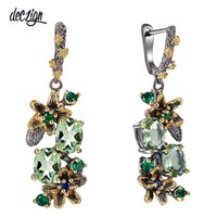 Deczign New Arrrived Antique Earrings for Women Vintage Flow...