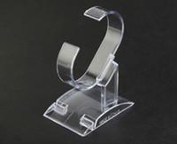 명확한 플라스틱 보석 디스플레이 홀더 팔찌 반지 시계 지원 홀더 스탠드 홀더 쇼케이스 스탠드