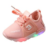 Baby Shoes Unisex Children Toddler Kids Baby Girl Boy Led Li...