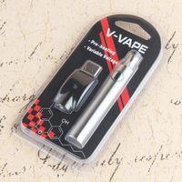 Hot 650mah VV Battery Vape Pen Battery 510 Thread Preheat Battery for G2 CE3 Vape Cartridges DHL Free