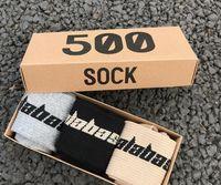 SAISON 6 Calabasas Chaussettes Skateboard Mode Hommes Lettre Printed Chaussettes Chaussettes de sport sockings Hip Hop