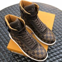 Rivoli High Quality Sneakers Iconic Damier Graphite Low Top ...