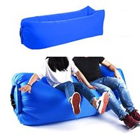 HOTSALE-Light sac de couchage gonflable étanche Lazy bag sofa Sacs de couchage de camping adulte air Plage Salon Chaise pliante rapide