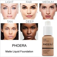 PHOERA LADY Foundation Base Makeup Professional Face Matte F...