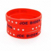 Trump 2020 Joe Biden EUA Letters imprimir Silicone Pulseira Pulseira Sports Bangle Votos de América Presidente Partidário Pulseiras Decors D61811