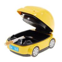 50pcs 자동차 모양의 전기 재떨이 정수기 휴대용 리무버 케이스 공기 정화 제품 신선한 만화 귀여운 도매