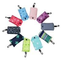 Многоразовые складные сумки для хранения продуктовых сумок Eco Friendly Большая складная большая сумка для бакалеи Тяжелые моющиеся хозяйственные сумки XD20231
