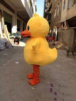 2019 di alta qualità Adorabile Big Yellow Rubber Duck del costume della mascotte del fumetto Performing dimensione adulta