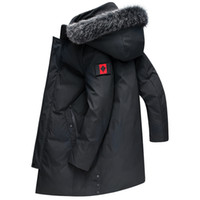 Зимняя куртка Мужчины Новый Повседневный сгущает Теплый -30 градусов хлопка-телогрейки Мужская с капюшоном Ветровка утепленная Размер 8XL 7XL 6XL