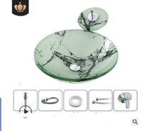 2020 горячей продажа ванная производители Раковины для ванной современного простого закаленного стекла умывальник В таблице ванной в Hote