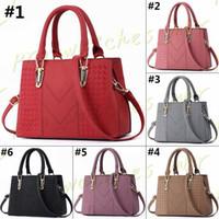 d12ea3e0528f1 Famous Brand Designer Fashion Women Luxury Bags Micky Ken Lady PU Leather  Handbags Brand Bags Purse Shoulder Tote Female Bag H0028-1