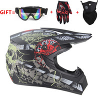 motorcycle Adult motocross Off Road Helmet ATV Dirt bike Dow...